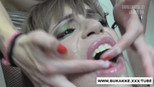 Massive Bukkake Facial for Spanish Silvana bukkake.xxx