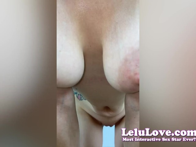 Babe Is Dripping Sweat Allows You Licking Armpits Asshole Pussy W/ Virtual Creampie While Grossed Out & Bored - Lelu Love