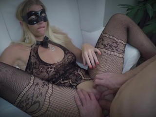 Dutch girl loves cock in her pussy and cums on it sucks it and receives facial and swallows his cum