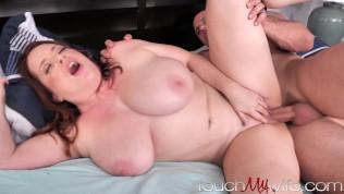 Maggie Green Fucks Gardner in front of Cuck