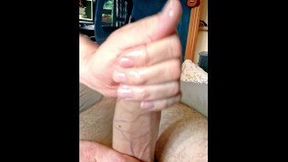 Frotting Our Uncut Cocks Feels so Good / POV 60 fps