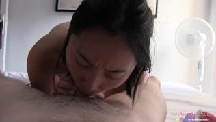 刘玥 Chinese Asian June Liu Creampie – SpicyGum Fucks American Guy in Paris x Jay Bank Presents