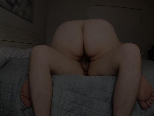 Stroking Dick While Fucking