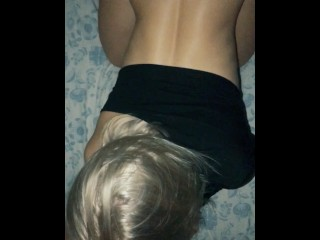 Real Amateur Wife Fucking at Night. Beautiful Round Ass