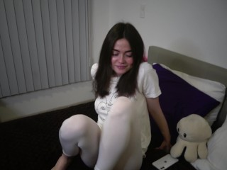 Fuck a beautiful slut with my big dick in doggy position and cumming on her tight wet pussy 4K60FPS