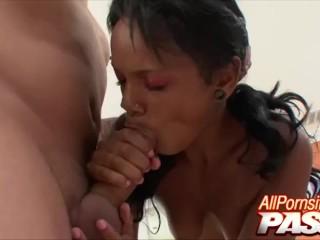 Big Butt Ebony Babe Raylen Big Dick Pounding