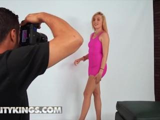 Reality Kings - Cute Blonde Teen Kiera Daniels Handle A Huge Cock Like A Pro