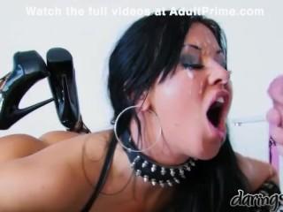 Pornstars get a face full of cum at AdultPrime