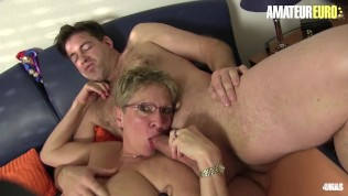 XXXOmas - German Mature Bitches Rough Group Sex With Lucky Strangers - AMATEUREURO