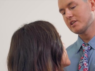 Trans Angels - Ryan Pitt Gets To Taste His Hot Wife Carrie Emberlyn's Ass After A Hard Day At Work