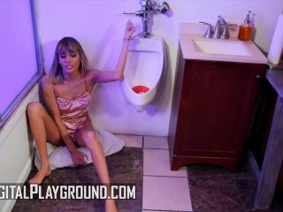 Digital Playground - Indian and black small tit threesome with Janice Griffith ,Demi Sutra and Ricky Johnson
