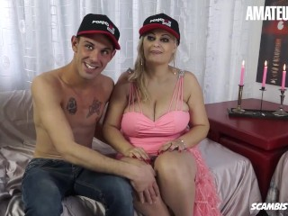 Scambistimaturi - Huge Tits Romanian Mature Slut Drilled Deep In Her Pussy By A Big Cock Stud