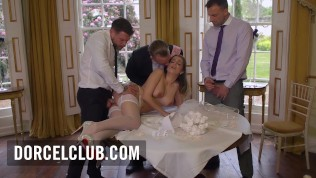 Sex before the wedding for French girl