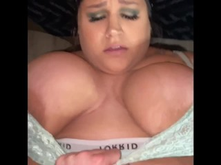 Adulterer BBW mom Laundry Room Suck and Banged