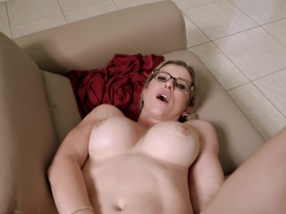 Erotic Step Older woman is Caught to the Sofa – Cory Chase