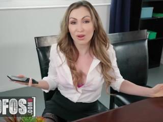 Mofos - Secretary Yasmin Scott Shows Her Boss Brick Danger's Wife Riley Star How To Please Her Man