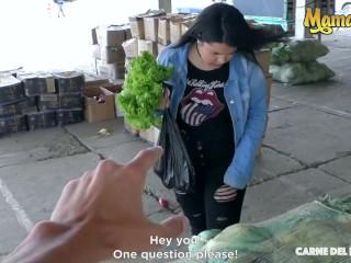 CarneDelMercado - Xiomara Soto Sexy Colombian Teen Picked Up For Hot Fuck With Stranger - MAMACITAZ