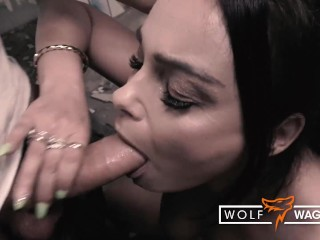 Filthy fuck date for horny mature Dirty Priscilla! Wolf Wagner