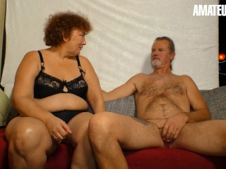 XXXOmas - Horny German Mature Sucks And Fucks Her Old Lover On Camera - AMATEUREURO