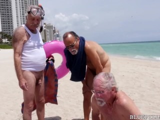 BLUEPILLMEN - Geriatric Friends Living Their Best Life With The Right Medication And Some Good Young Pussy