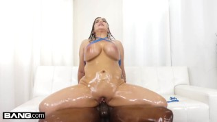 BANG Surprise - Thick Babe Natasha Nice Wants A Big Black Cock Anal