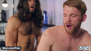 Men - Hot Redhead Calhoun Sawyer Gets Groomed And Facialed By Grooming Expert Diego Sans