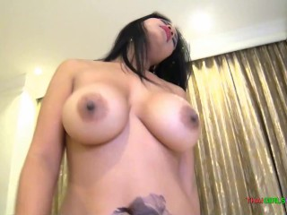 Tremendous titty Thai bitch wouldnt let me pull out
