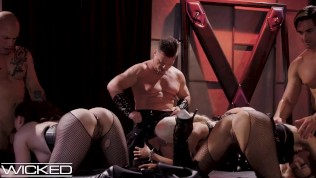 Wicked - Jessica Drake Has Group Sex In Underground Fetish Club