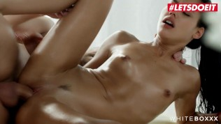 WhiteBoxxx - Apolonia Lapiedra Gorgeous Petite Spanish Babe Drilled Deep After Hot Massage Session