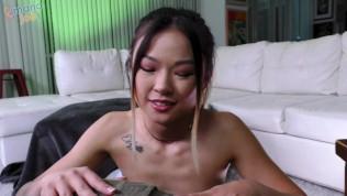 18 year-old Chinese Cheating Slut Lulu Chu stars in ManoJob video A Handy Break Up!