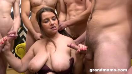 French grannies gangbang big cocks Granny Gangbang Porn Videos Youporn Com