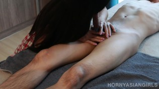 University Student Gives Happy Ending Massage Before Going to School - Free Porn Videos - YouPorn