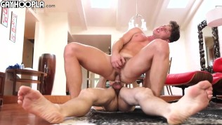 Porn Gay XXX  Price Gets Dicked Down By Tall Teen Roman