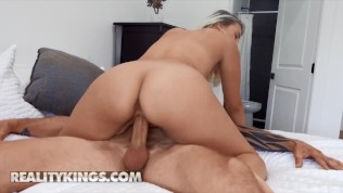 Reality Kings - Indica Monroe Gives Scott A Blowjob Before Getting Fucked While Wearing His Briefs