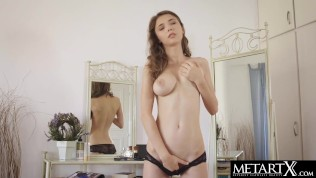 See her perfect breasts jiggling as she masturbates to an orgasm