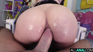 ALL ANAL Southern PAWG Dixie Lynn takes it up her booty