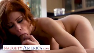 Naughty America - Brooklyn Lee can't wait to get wet pussy fucked