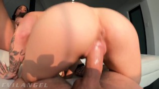 EvilAngel - Interracial Babes Take Turns Cumming On My Big Dick