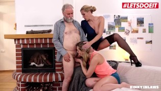 KinkyInlaws – Sexy Russian Teen Seduced And Fucked By Her Step Father Hardcore – LETSDOEIT