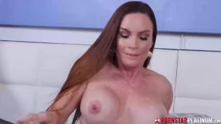 Naughty Big Tits MILF Masturbates Solo