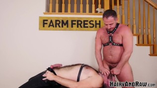 Hairy Bottom Raw Bred After Deepthroat