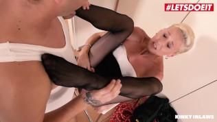 KinkyInlaws – Sexy Czech Step Mom Hardcore Pussy Fuck With Her Step Son's Big Dick – LETSDOEIT