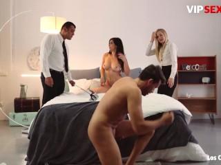 LosConsoladores – Nekane Attractive Spanish Hottie Crazy Swinger Homemade Fourway
