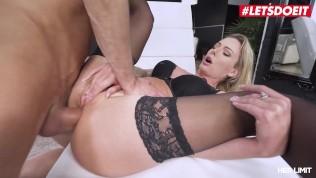 HerLimit – Isabelle Deltore PAWG Australian MILF Slut Drilled Deep In Her Asshole By A Huge White Cock