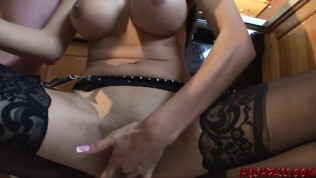 Daisy is Cooking up a Cupboard Blowjob and a Kitchen Counter Fuck