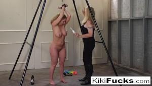 Kiki Gets Tickle Tortured
