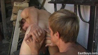 Luis Blava always finds best boys, village boys, smooth, strong from doing farm work, barely 18, and horny and eager to fuck