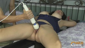 TiedUp Housewife Charlee Chase Tickled And Finger Fucked By Her Husband!