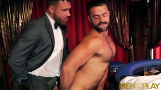 MENATPLAY Class Men In Suits Make Out And Fuck During Poker