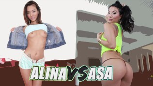 BANGBROS – 偉大な女性の戦い Japanese Asa Akira Showdown With Chinese Alina Li